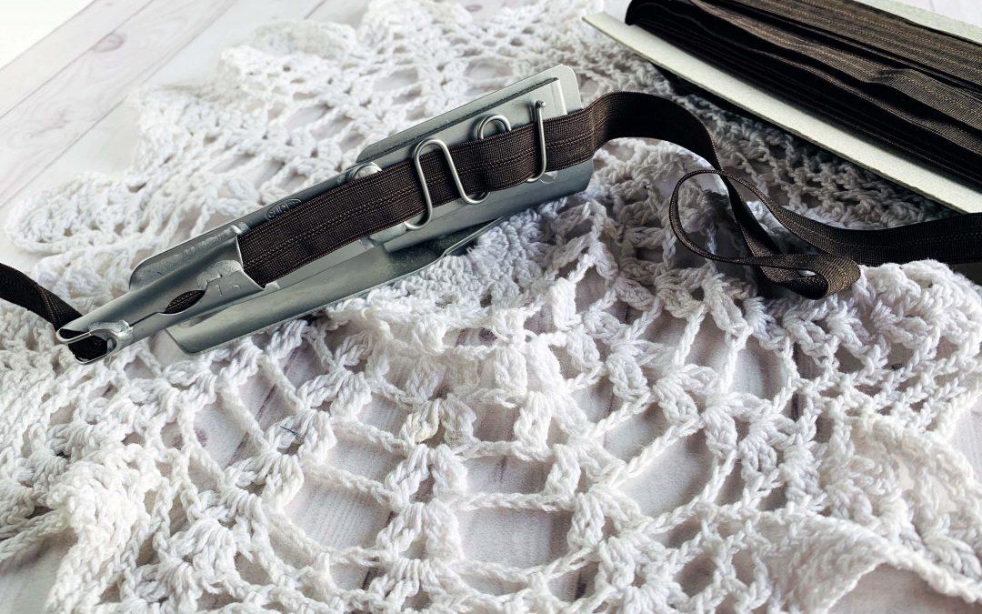 ¿Cómo usar la guía de collareta para coser lenceria?