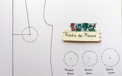 ¿Cómo dibujar el Radio de mama?