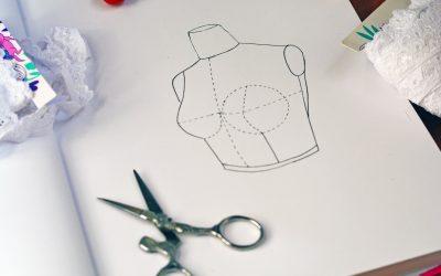 Radio de mama: ¿Cómo tomar las medidas para hacer el molde de corpiño?