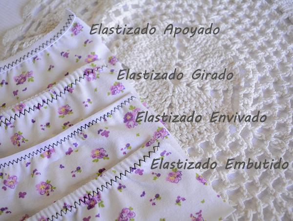 4 Técnicas de elastizado para lencería -Segunda Parte-